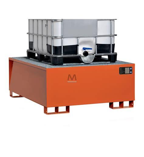 vasca di contenimento vasca di contenimento per 1 cisternetta ibc acciaio