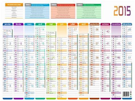 Calendrier Vacances Scolaires Calendrier 2015 Dates Jours F 233 Ri 233 S Et Vacances