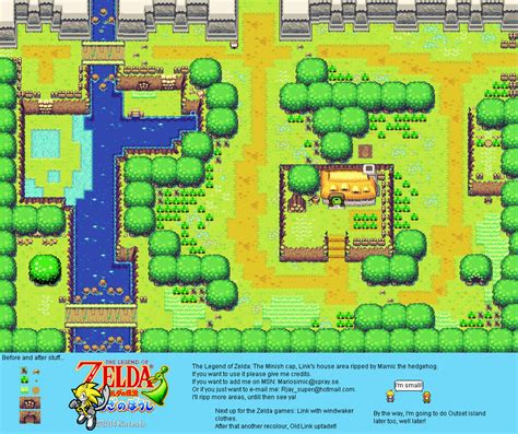 legend of zelda map sprites the spriters resource full sheet view the legend of