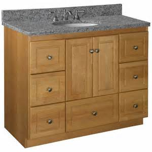 42 bathroom vanity cabinet bathroom vanities strasser woodenworks 42 quot w simplicity