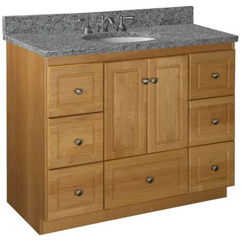 42 Bathroom Vanity Cabinet Bathroom Vanities Strasser Woodenworks 42 Quot W Simplicity Vanity With Free Shipping