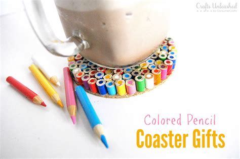 diy crafts for teachers diy coaster colored pencil gifts for teachers