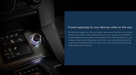 Charger Brand Xiaomi 21a 3output original xiaomi dual usb ports car charger metal stylish 3 6a in pakistan