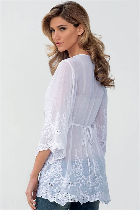 Keira Top Lace Blouse Hijaber kettymore top lace shirt and blouse white kettymore