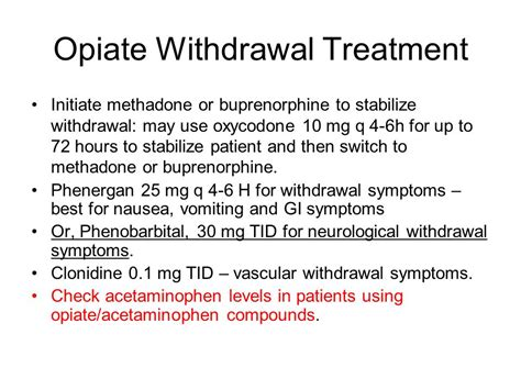 Using Clonidine For Detox by Opioid Dependence In Pregnancy Ppt