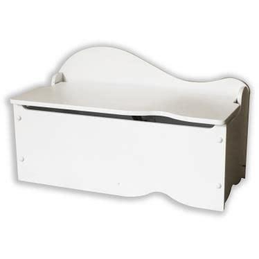 Coffre à jouets blanc en bois avec banc   Achat / Vente