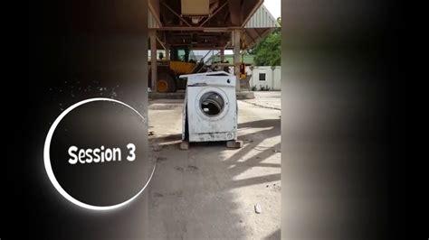 Stein In Waschmaschine by Waschmaschine Vs Stein Washing Machine Vs