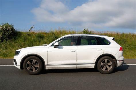 Volkswagen Touareg 2018 by 2018 Volkswagen Touareg Spied Almost Undisguised