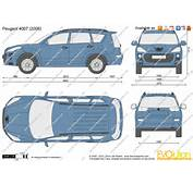 The Blueprintscom  Vector Drawing Peugeot 4007