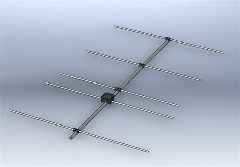 homebrew 5 element yagi antenna for 144mhz ham radio ham radio antenna ham radio ham