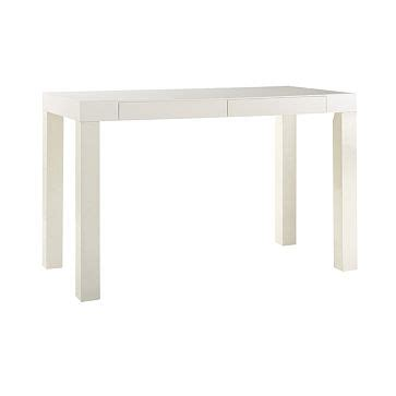 Parsons White Desk by Creative Juice Vitamin B Boost Cool With White