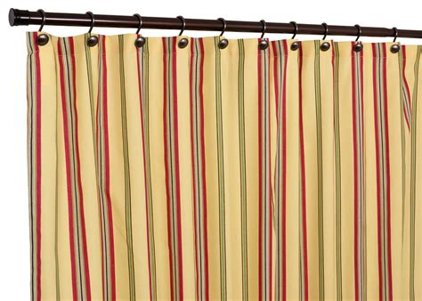 yellow stripe shower curtain ellis curtain warwick medium scale stripe shower curtain