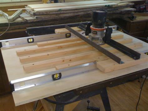 Infinity Cutting Tools Router Sled For Flattening A