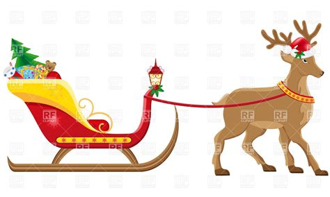 clipart natale free free clipart santa sleigh clipground