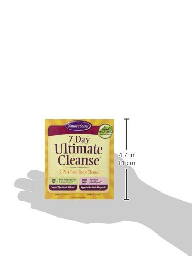 Ultimate Detox Cleanse And Rebuild Reviews by Nature S Secret 7 Day Ultimate Cleanse Supplement 72