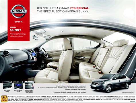Special edition Nissan Sunny gains new features