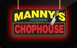 Mannys Gift Card - buy manny s chophouse gift cards raise