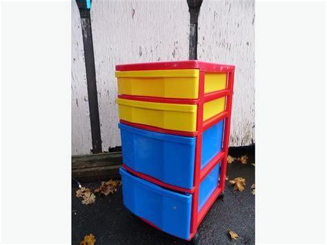 Plastic Storage Drawers Canada by 4 Drawer Plastic Storage Saanich