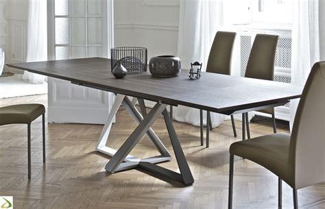 tavolo per soggiorno moderno tavolo design allungabile millennium di bontempi arredo
