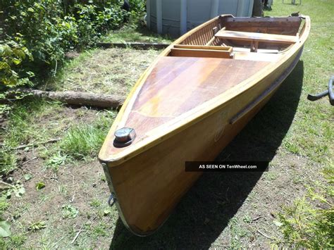 Handmade Wooden Canoes - unique wooden canoe canot roby 18 handmade white