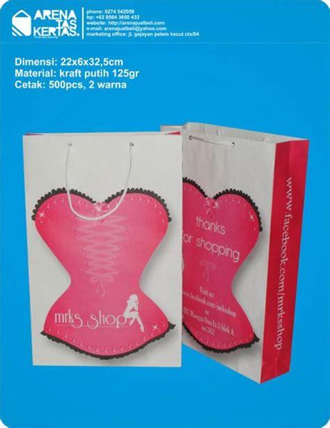 Kertas Untuk Paper Bag Paper Bag Mrks Shop Itc Mangga Dua Jakarta Desain Tas