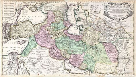 map of iran and turkey file 1730 ottens map of iran iraq turkey