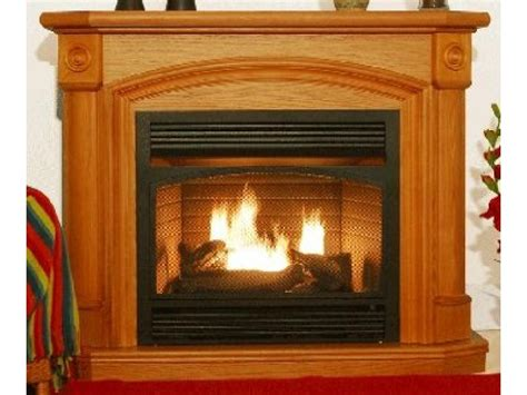 buy gas fireplace buy kensington oak dual fuel ventless gas fireplace at