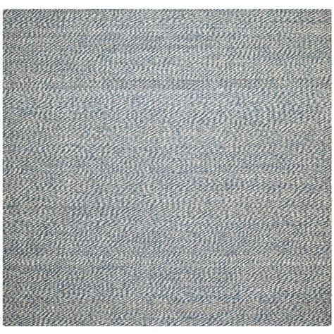 Safavieh Natural Fiber Blue Ivory 6 Ft X 6 Ft Square 6 Foot Area Rugs