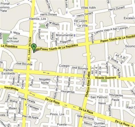 mapa de cd juarez chihuahua notaria 27 suarez y corral s c