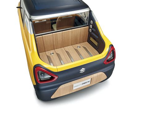 suzuki mighty suzuki unveils the mighty deck concept ahead of its