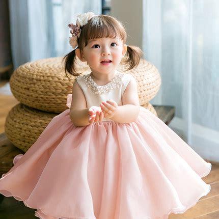 light pink toddler dress light pink flower dress light pink baby