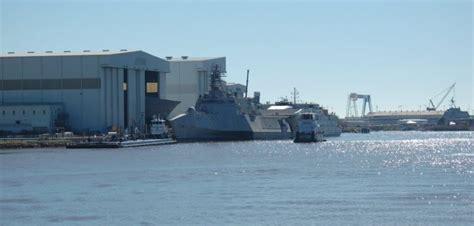 trimaran workboat austal usa christens 16th littoral combat ship workboat