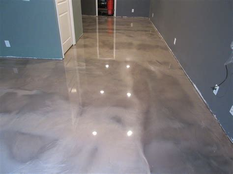 Epoxy Basement Concrete Stain Marysville Ohio