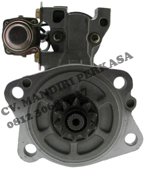 Spare Part Alat Berat Loader Solenoid Engine Stop dinamo starter assy