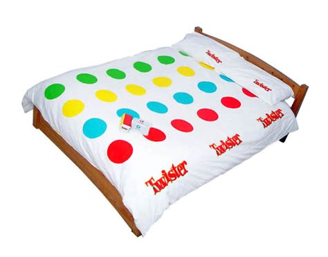 twister bed sheets your bed should have more fun and games didn t you