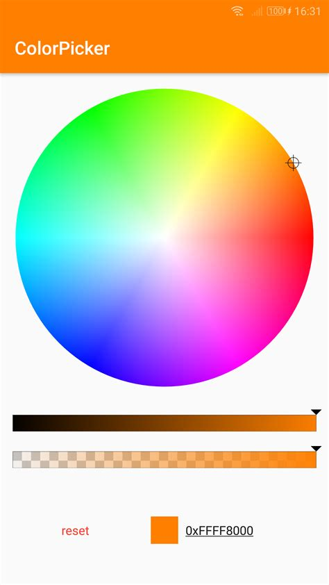 color wheel picker nuget gallery packages matching colorpicker