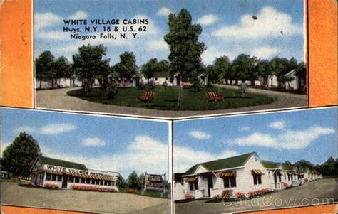 white village cabins niagara falls ny