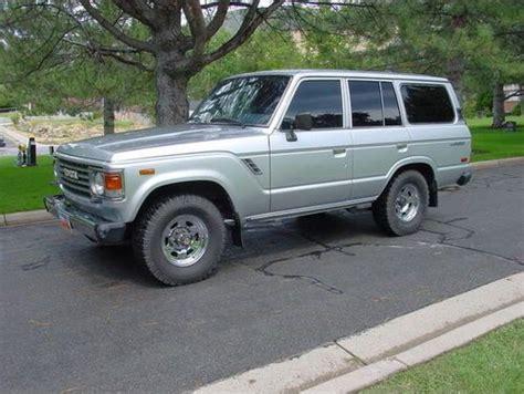1986 Toyota Land Cruiser Buy Used 1986 Toyota Land Cruiser In Centerville Utah