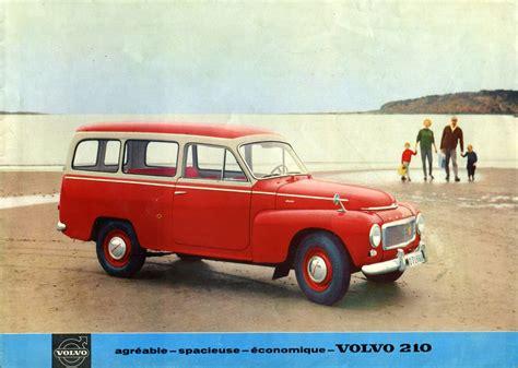 classic volvo 1961 volvo 210 brochure