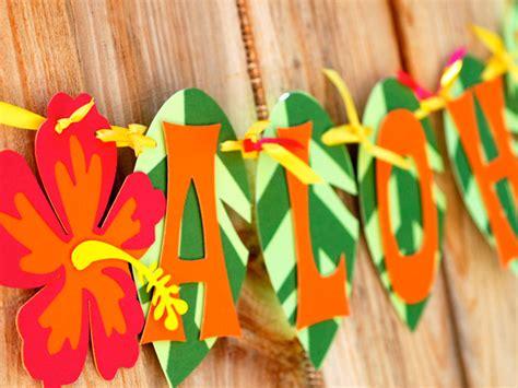 hawaii themed decorations recipes for hawaiian theme my decor ideas