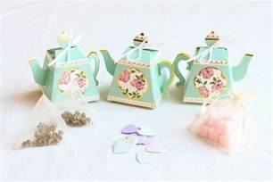 Bridal Tea Favors by Tea Bridal Shower Favors 1 Box 3 Ideas Beau Coup