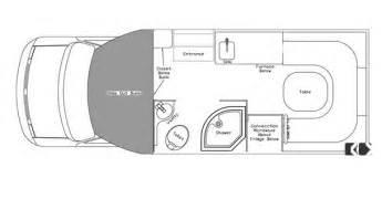 Class B Floor Plans Class B Motorhomes Floor Plans Class B Motorhome Floor