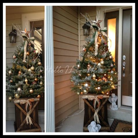 home and garden christmas decorations easy diy outdoor christmas decorations home decor clipgoo