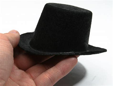 pattern for felt top hat black flocked felt top hat doll hats doll making
