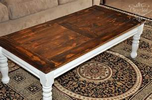 Refinish Coffee Table Coffee Table Redo Cherished Bliss
