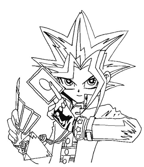 Coloring Page Yu Gi Oh by Yu Gi Oh Coloring Pages Coloring Pages To Print