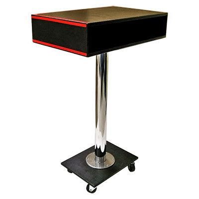 professional rolling table by g l magic upstagemagic