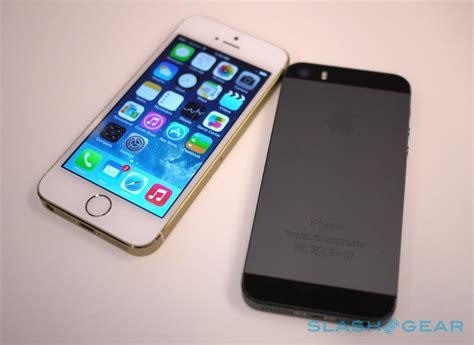 iphone 5s on slashgear