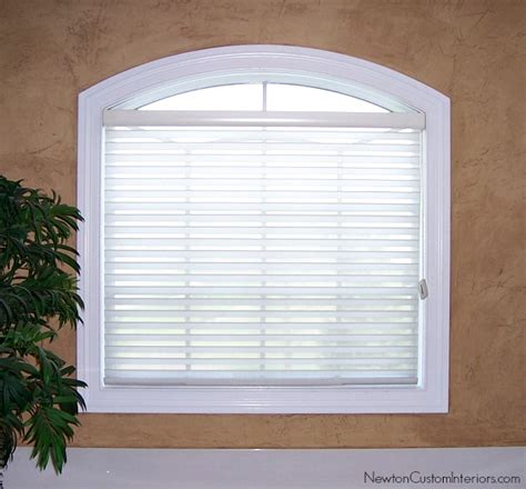 eyebrow arch window coverings eyebrow window treatments newton custom interiors