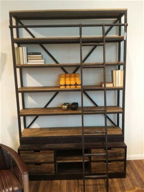 bookcase with sliding ladder what s my name again